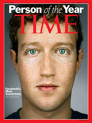 Time Facebook's Mark Zuckerberg Person of the Year