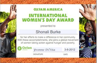 International-womens-day-award