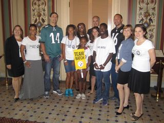 Senator Casey & group 6.21.12