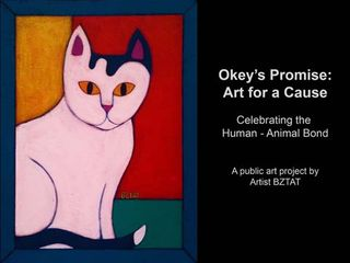 Okey-white-black-cat-painting-BZTAT-title-page-LR