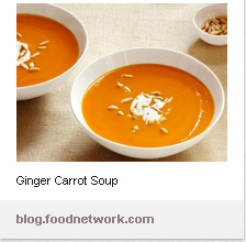 Pinterest-Carrot Soup