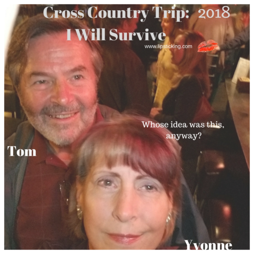 Cross country trip whose idea Yvonne Tom