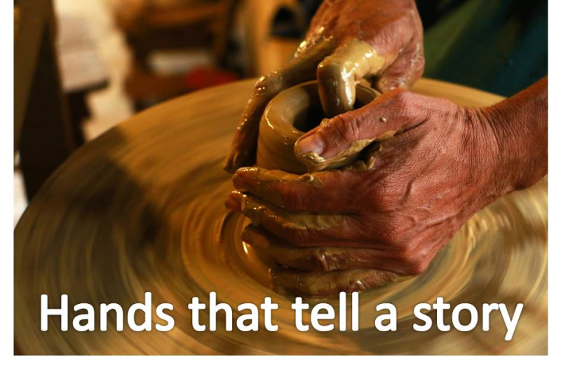 Hands that tell a story