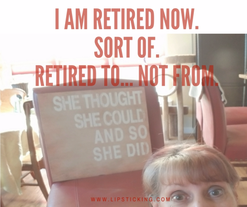Retired to not from