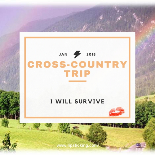 Cross country trip I will survive 2018 (1)