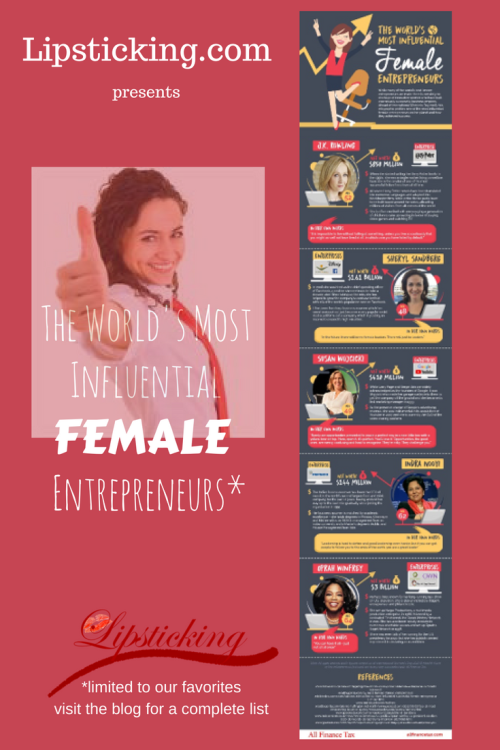 Worlds most influential FEMALE entrepreneurs
