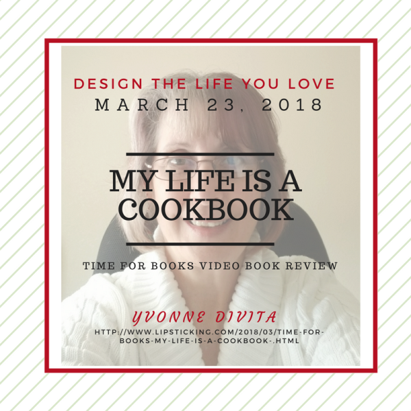 Design the life you love my life is a cookbook