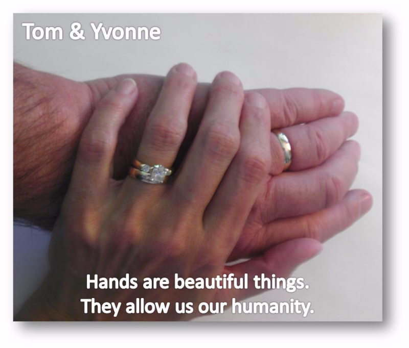 Tom and Yvonne Hands