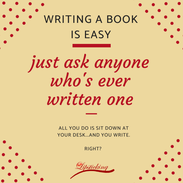 Writing a book is easy