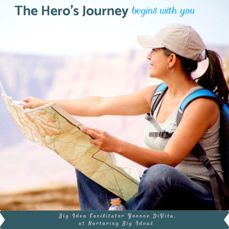 Heros journey begins with you