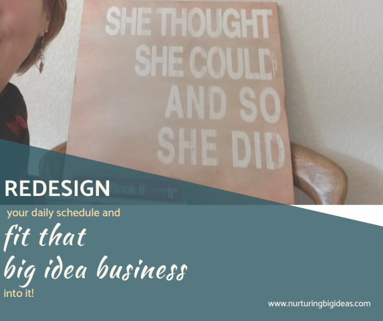 Big idea business thought she could so she did
