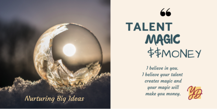 Talent magic money