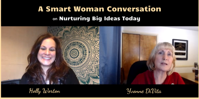 Smart woman conversation with holly worton
