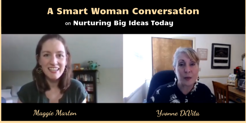 Smart woman conversation with Maggie Marton cover