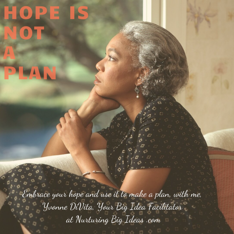 New hope is not a plan