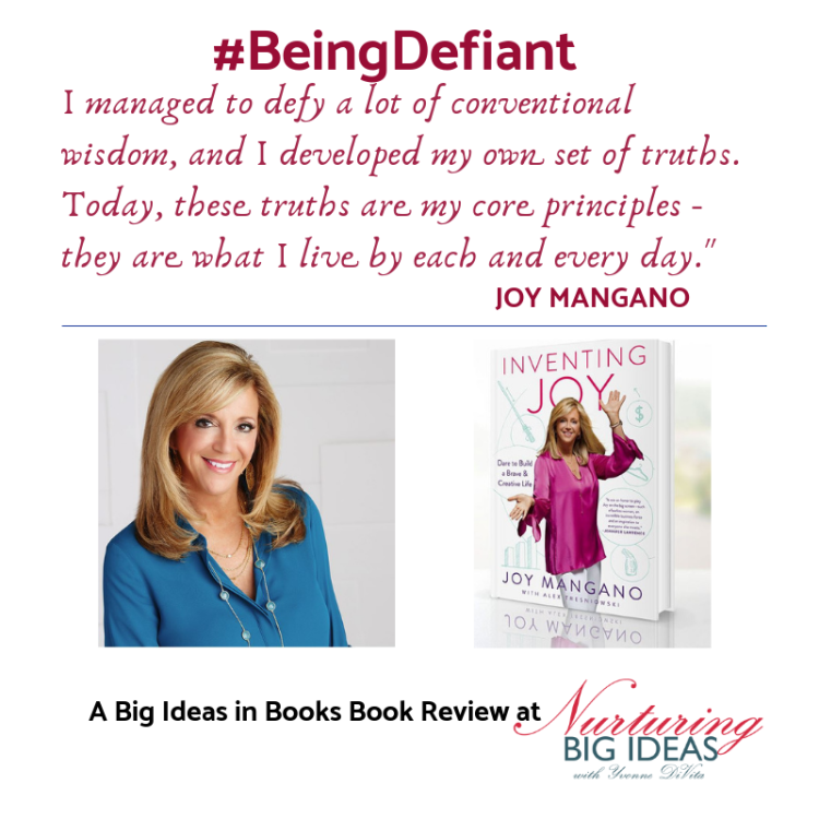 Joy mangano being defiant book review