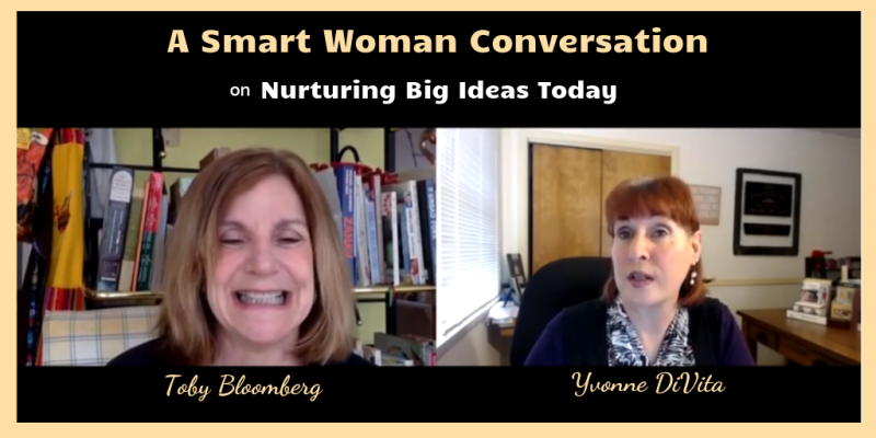 Smart woman conversation Toby Bloomberg