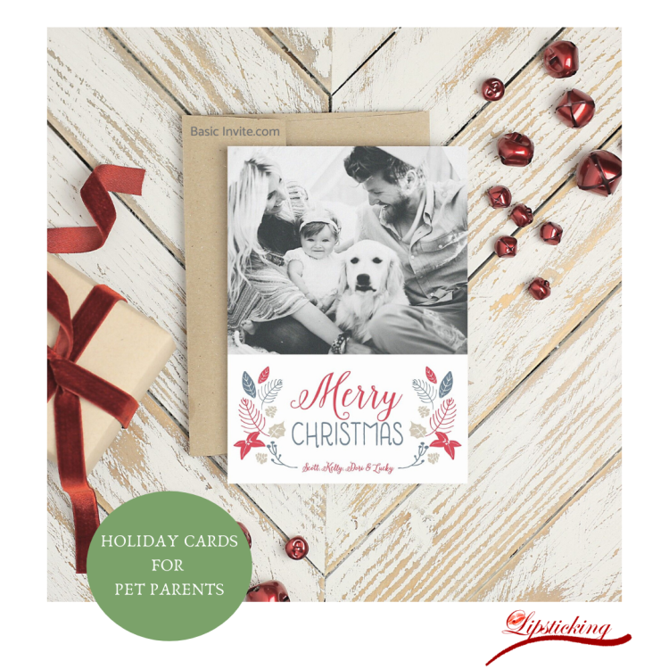 Holiday cards pet parents