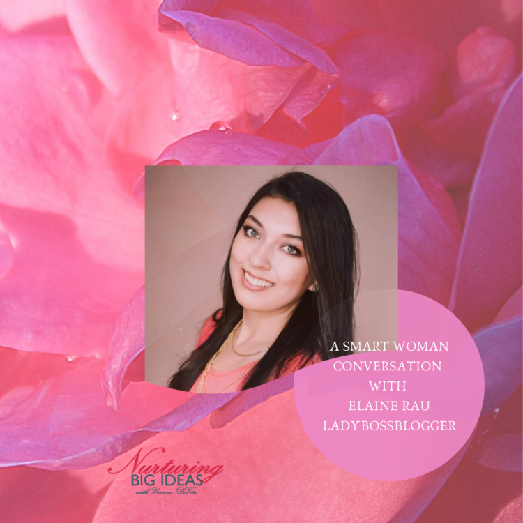 Smart woman  conversation with ladybossblogger Elaine Rau