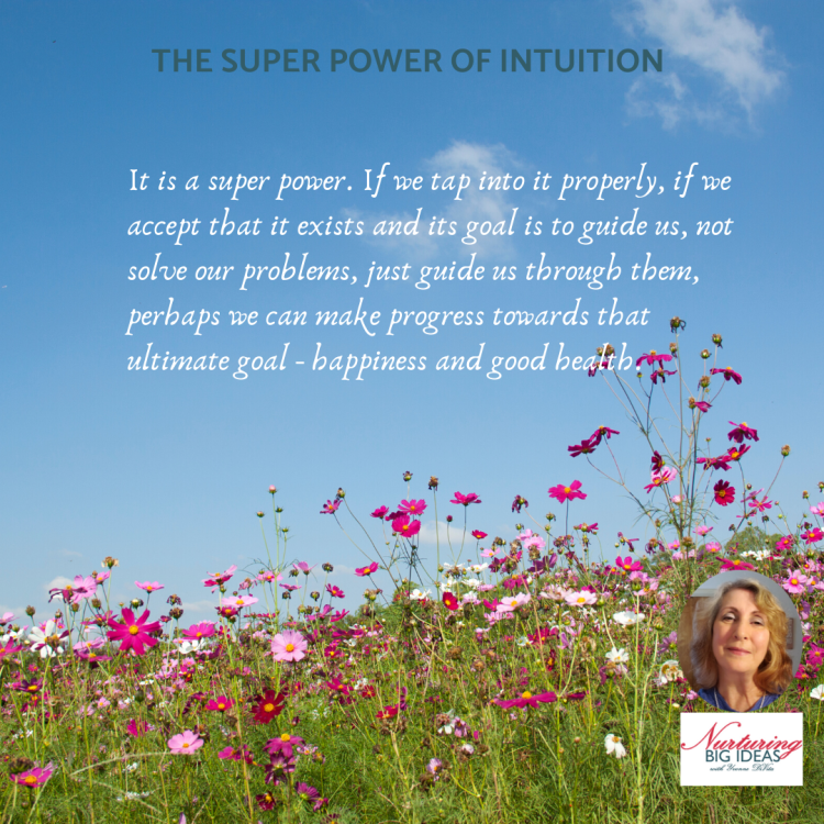Intuition happiness good health