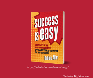 Success is easy book cover for blog