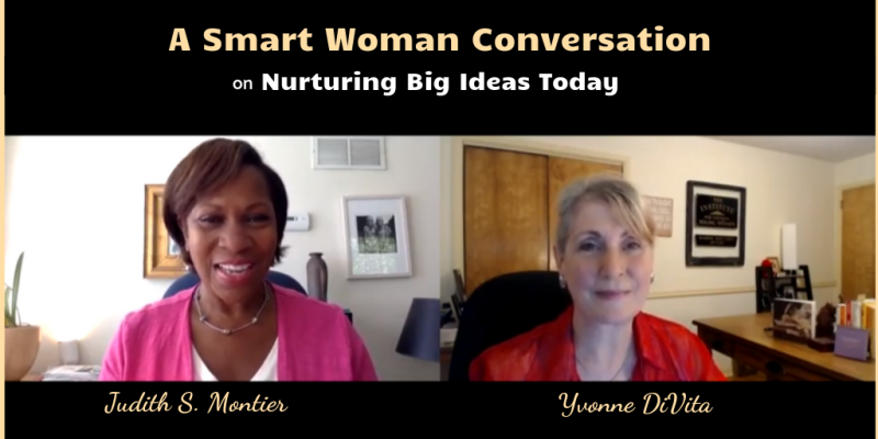 Smart woman conversation with Judith Montier cover