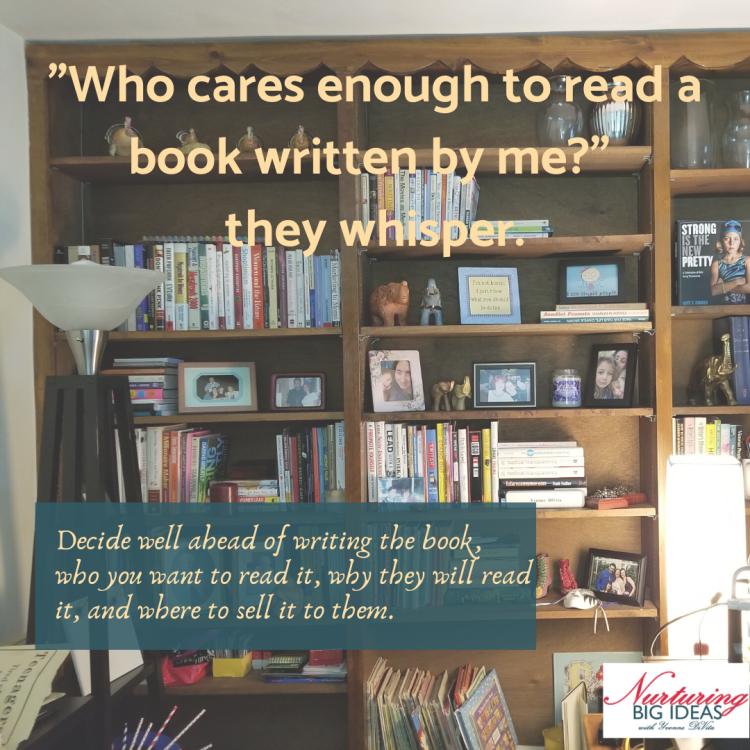 Who will read your book