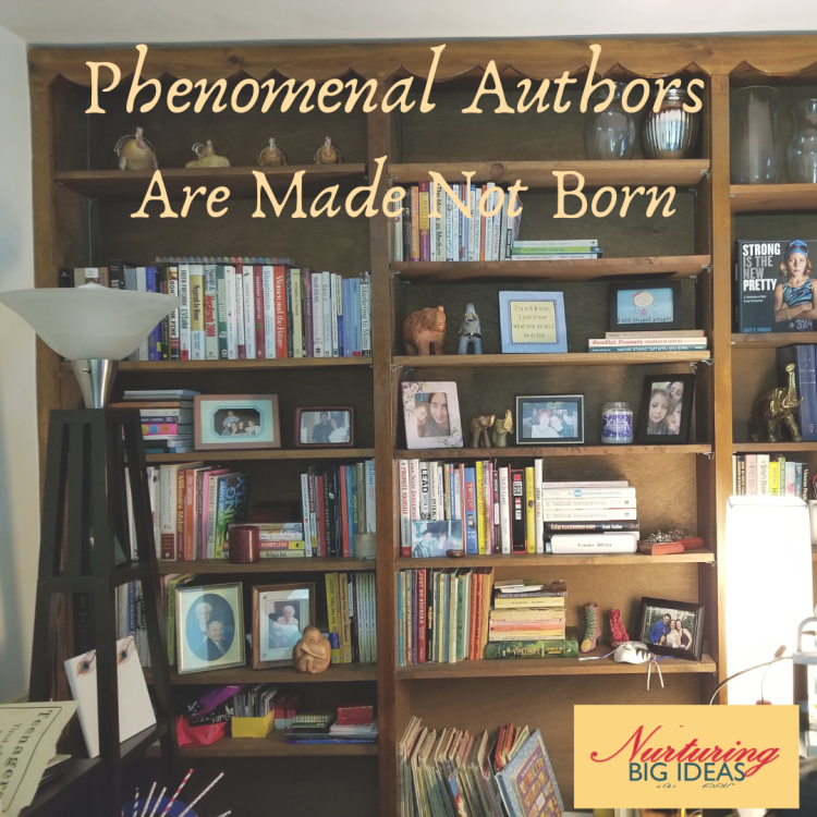 Authors are made not born