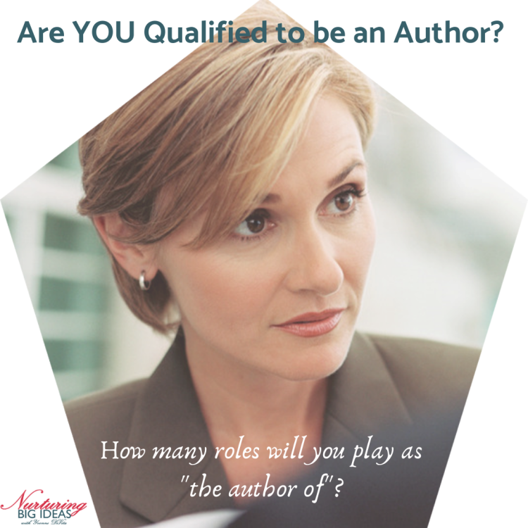 Qualified to be an author