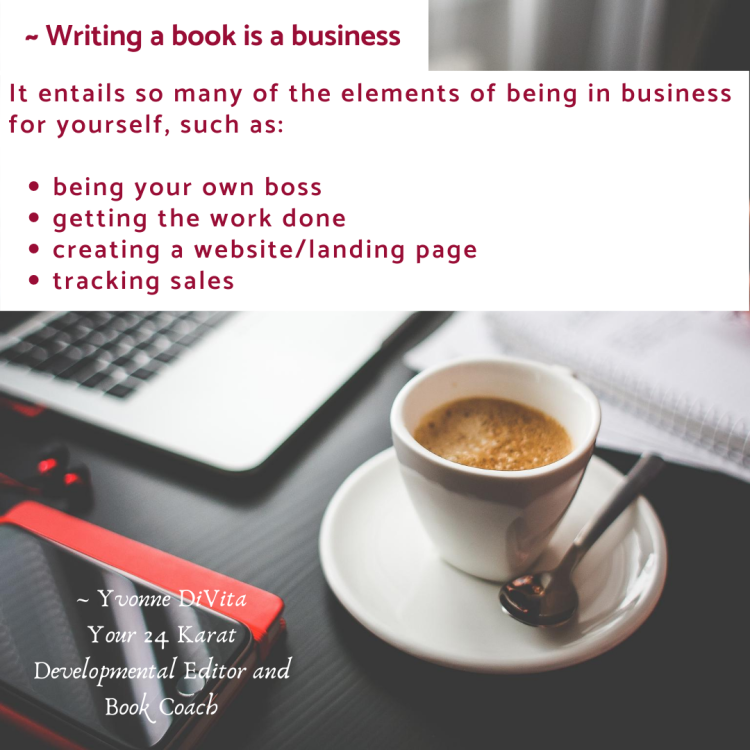 Business of writing a book