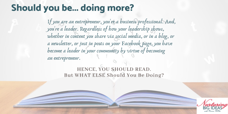 BUSINESS LEADERS READ and write