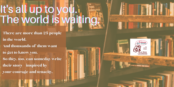 The world is waiting for your book